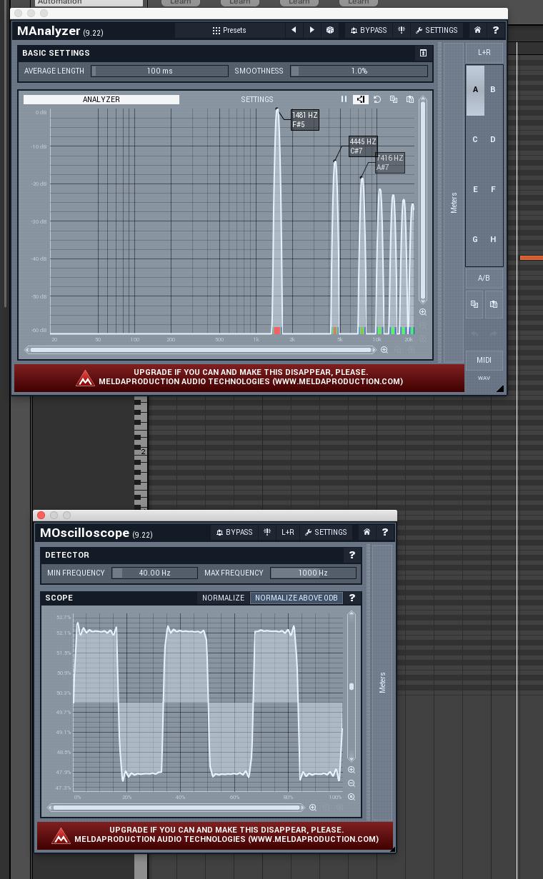 Sound design notes (2) – Wesen's Stuff